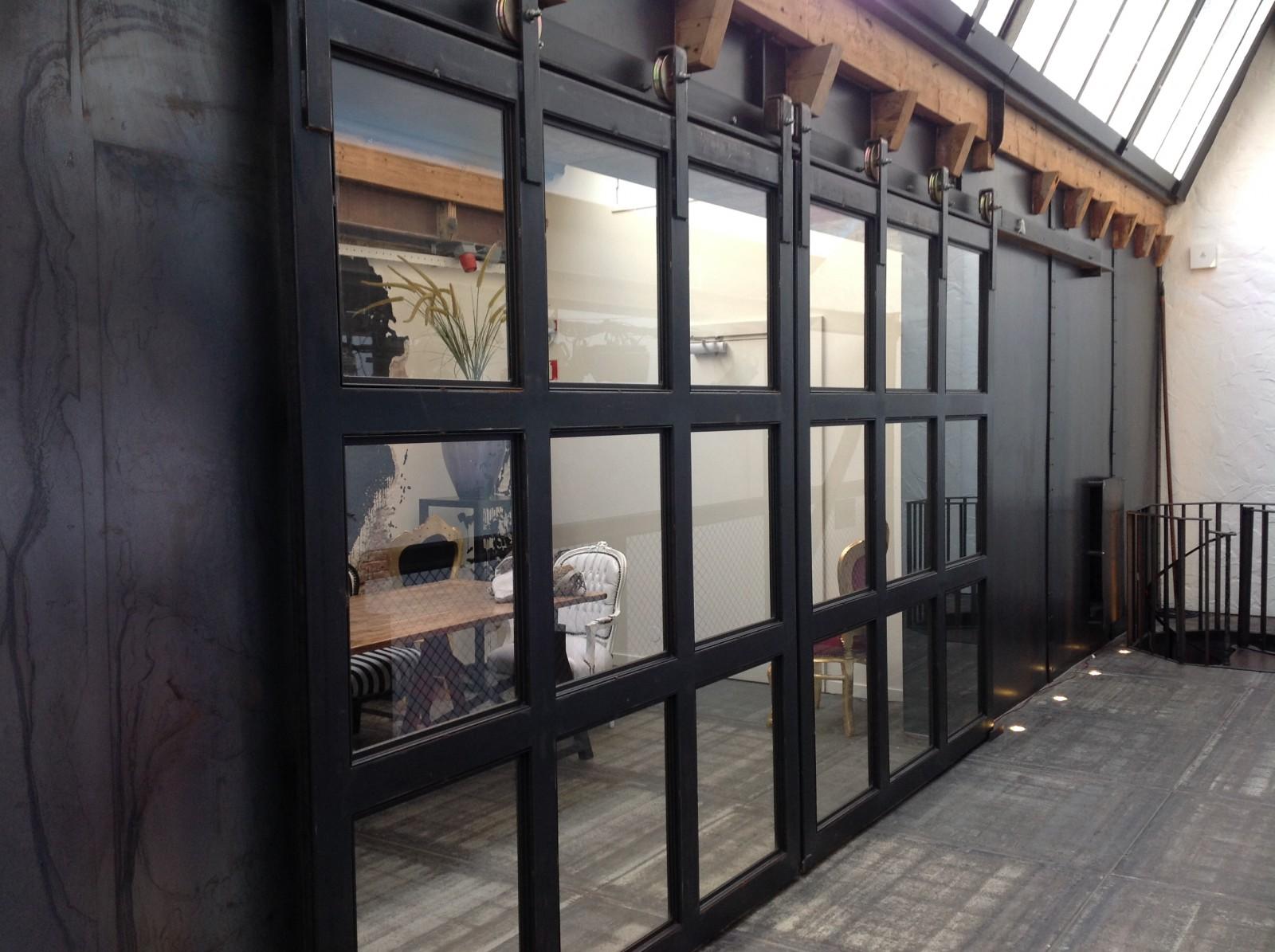 Stalen Deuren Tweedehands : Stalen deuren thuis en op kantoor
