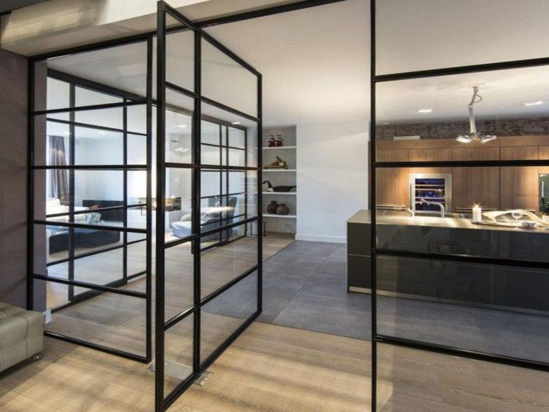 Een Stalen Deur : Stalen deuren thuis en op kantoor