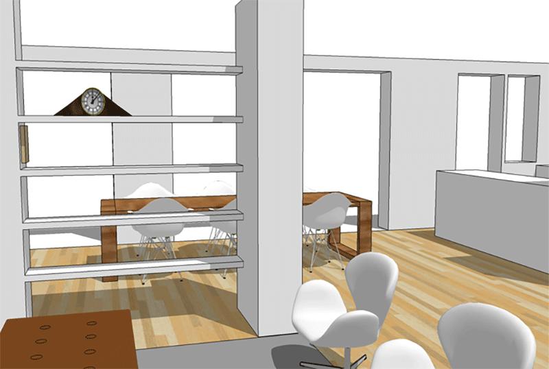 Indeling advies voor een jaren 50 woning interieur for Woning indeling
