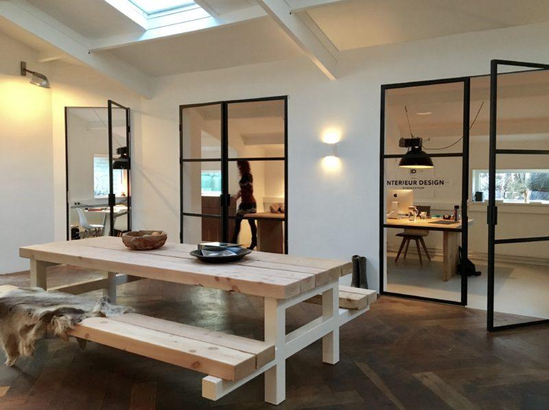 Stalen deuren thuis en op kantoor interieur design by for Kantoor interieur design