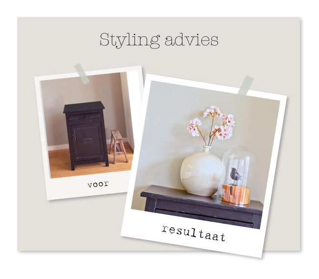 Styling advies woonkamer for for Interieur styling