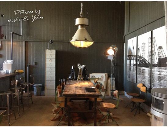 Verliefd op vintage for Industrieel interieur accessoires