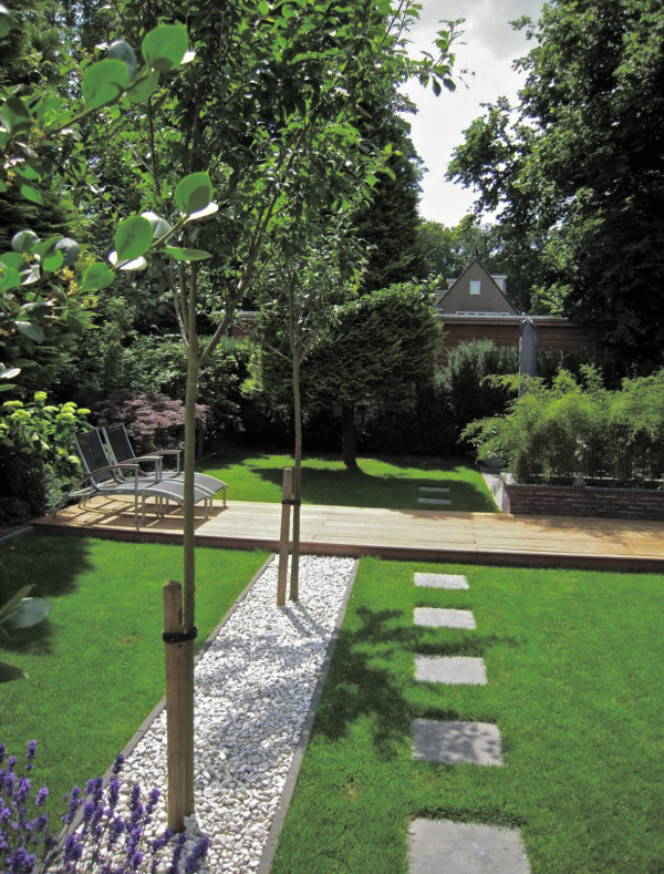 Modern klassieke tuin interieur design by nicole fleur for Tuin inspiratie modern