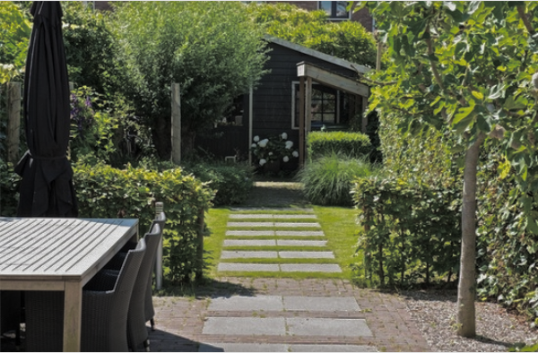 Modern klassieke tuin - Tuin layout foto ...