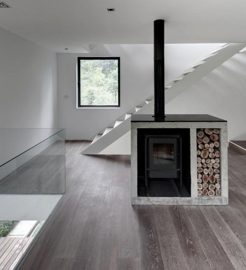 Jaren 30 interieur woonkamer inrichting woonkamer landelijke stijl moderne - Interieur van een huis ...