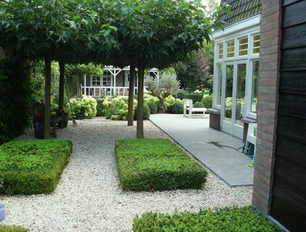 Modern klassieke tuin - Landschapstuin idee ...