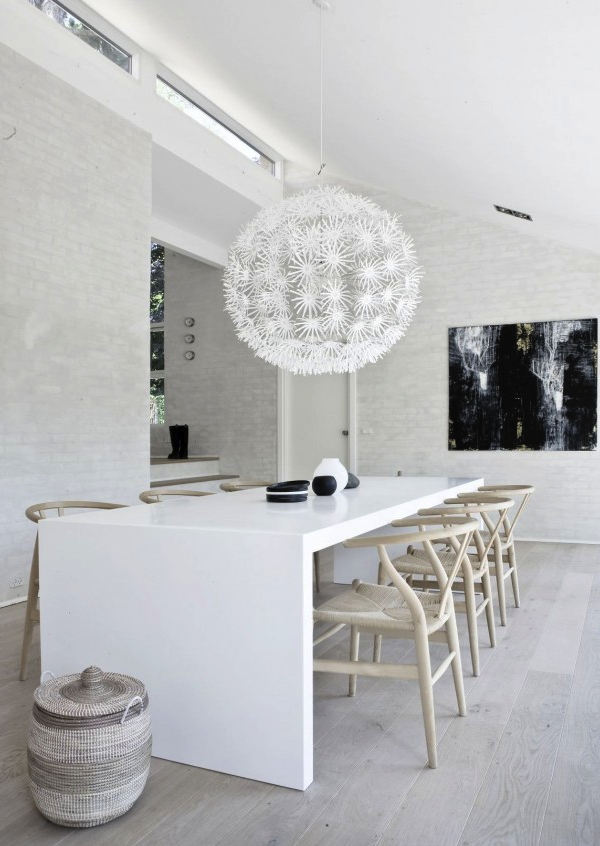 Woonkamer Bruin Wit : Pin zwart wit en bruin woonkamer interieur ...