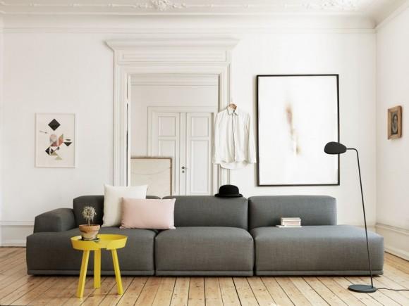 Geel in het interieur interieur design by nicole fleur for Scandinavisch design bank