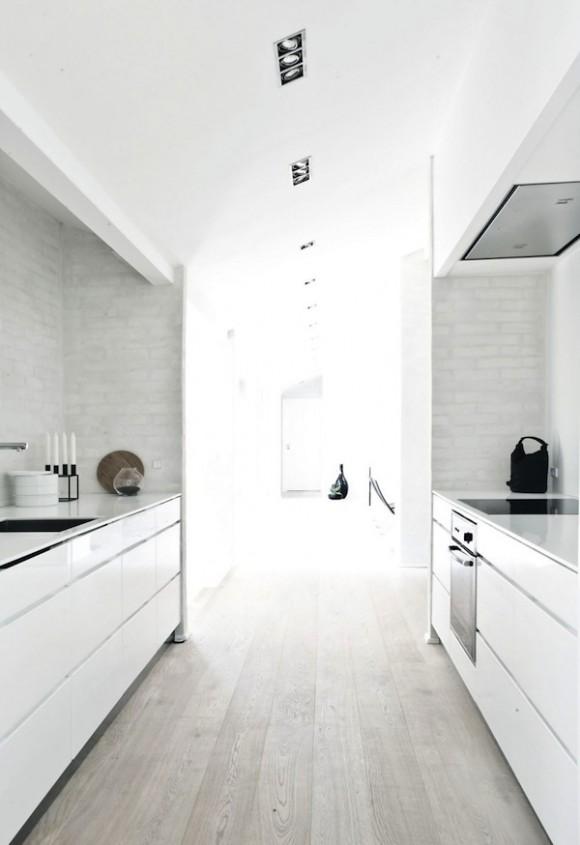 Werkblad beton keuken - Interieur van amerikaans huis ...
