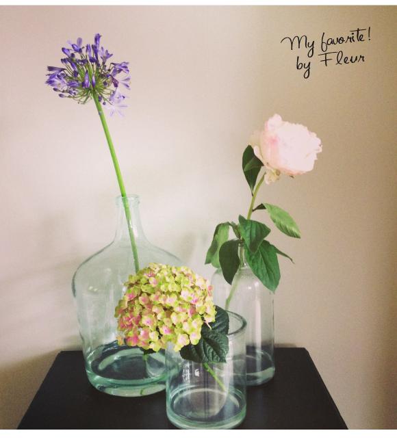 stylen met bloemen