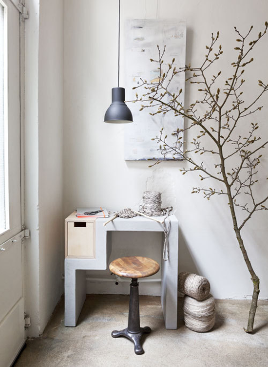 Echt beton en beton look in het interieur - Mooi huis interieur design ...