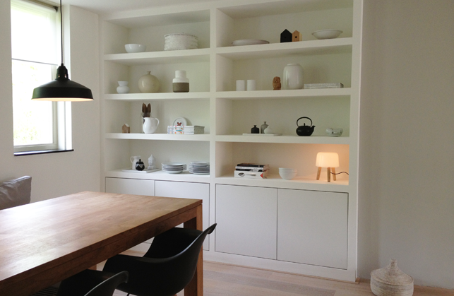 Inbouwkast op maat met luxe uitstraling   Interieur design by nicole  u0026 fleur