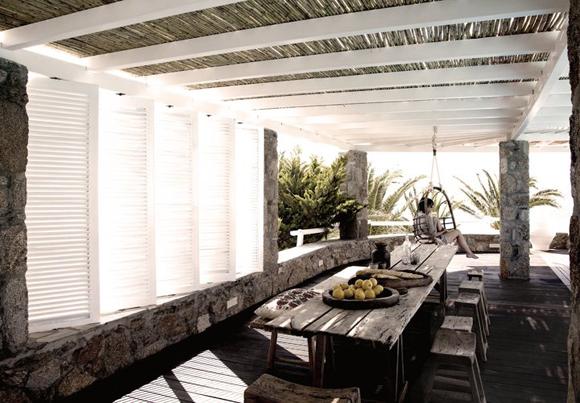 Moodboard groene tuin zwart wit accenten interieur design by