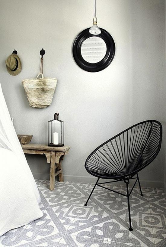Tegels in huis interieur design by nicole fleur - Fauteuil acapulco pas cher ...