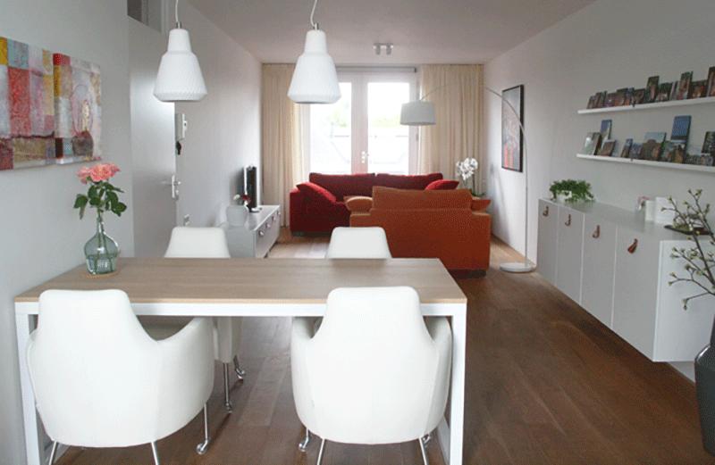 Een nieuw ingericht appartement met kleur interieur design by nicole fleur - Kleur appartement ...