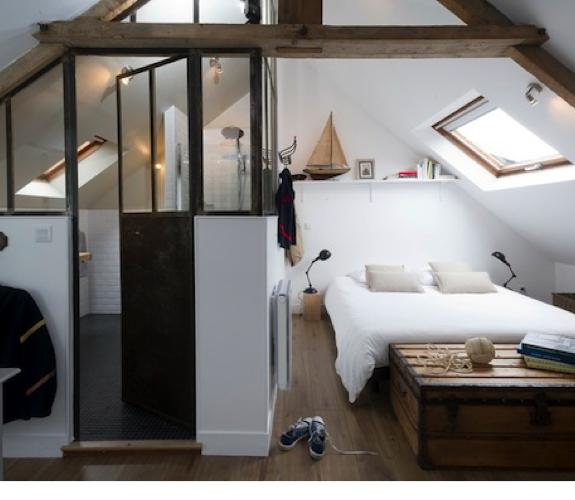 Zolder verbouwen is de moeite waard interieur design by nicole fleur for Petite chambre parentale avec douche