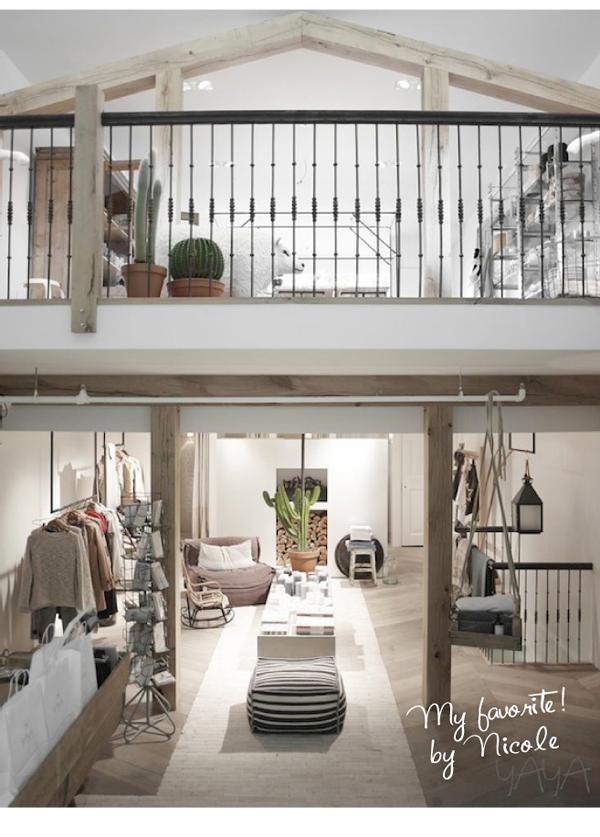 yaya concept store interieur design by nicole fleur. Black Bedroom Furniture Sets. Home Design Ideas