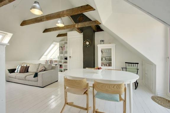 Woonkamer Op Zolder : Woonkamer op zolder interieur design by nicole & fleur