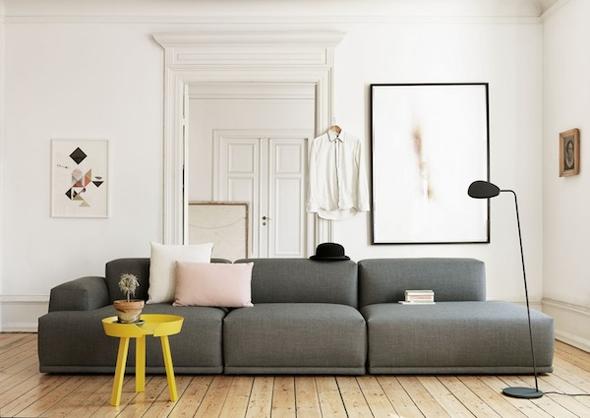 Flexibel zitten met een modulaire bank   Interieur design by nicole  u0026 fleur