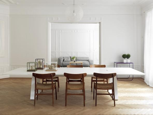 Bermuda Table by Thomas Eriksson