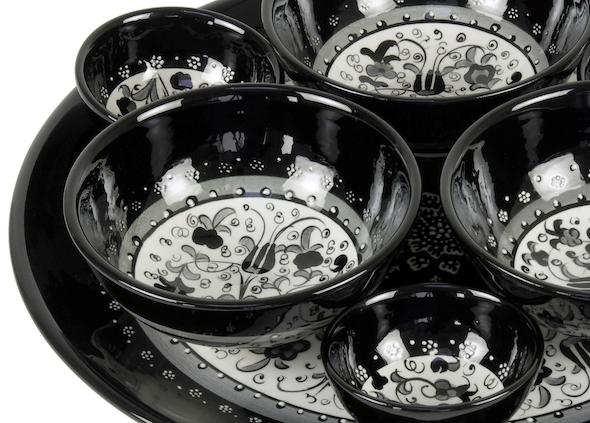Zwart Wit Servies Ikea.Zwart Servies Op De Eettafel
