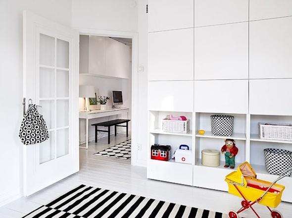 Opbergruimte in kleine ruimte