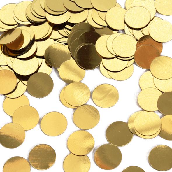 Gold confetti (birthdaydirect.com)