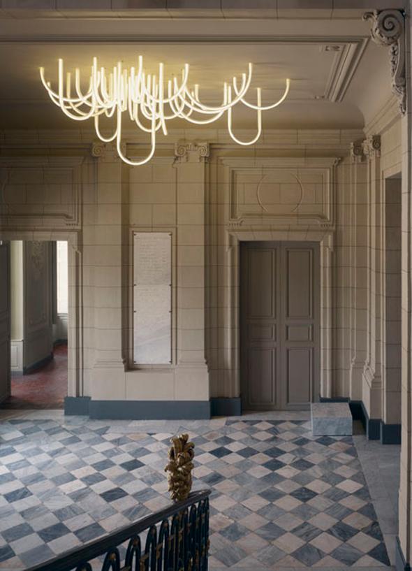 Design kroonluchters als eyecatchers in het interieur interieur design by nicole fleur - Mezzanine verlichting ...