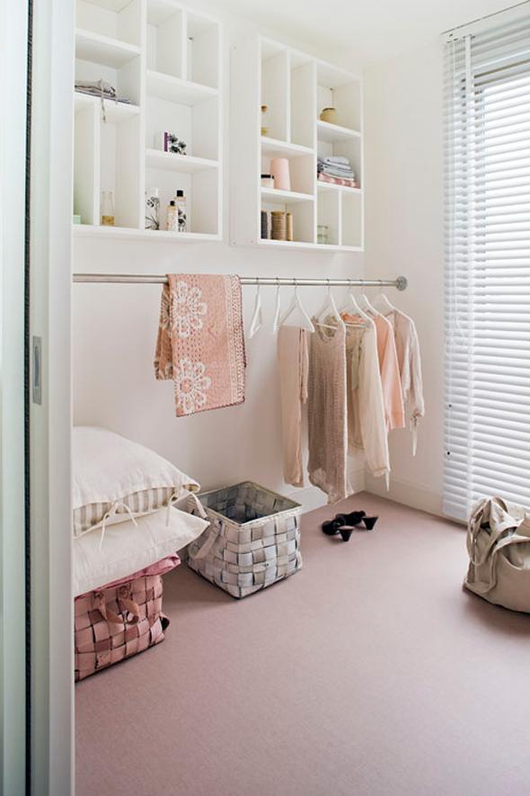 Maak je eigen in walk in closet |