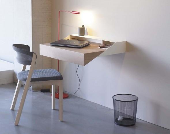 Kleine kantoor in huis