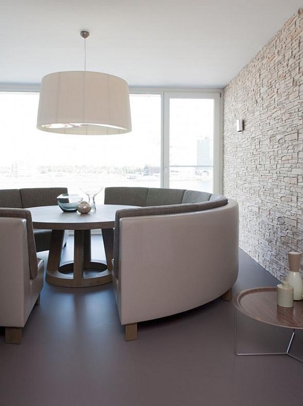Bank bij de eettafel creu00ebert ruimte in jouw eethoek : Interieur ...