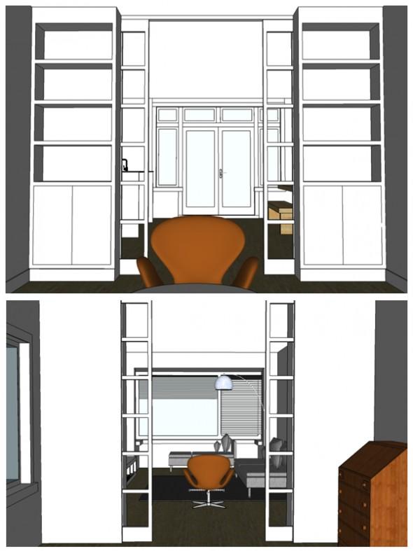 Kamer en suite in jaren 30 woning
