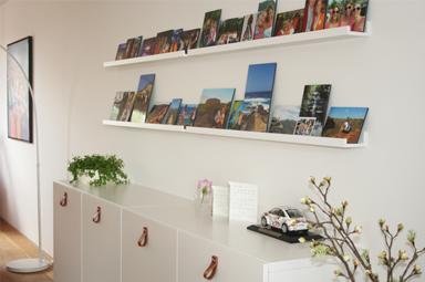 Een nieuw ingericht appartement met kleur