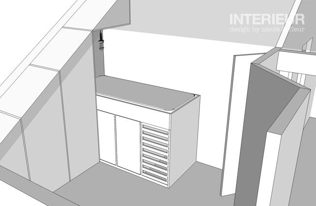 Vide Slaapkamer Maken : Zolder ontwerp afgerond Interieur design by ...