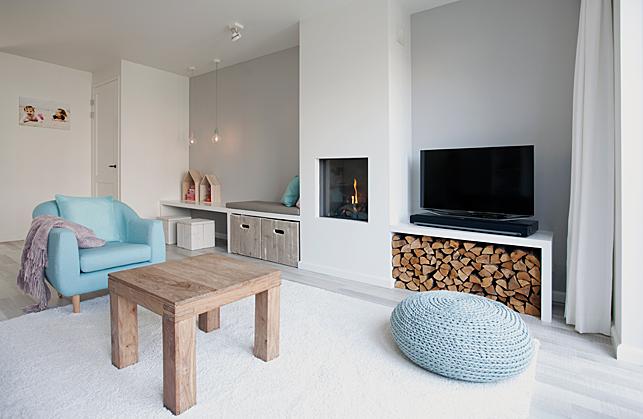 Woonkamer Design Kleuren : Een romantische woonkamer Interieur design ...