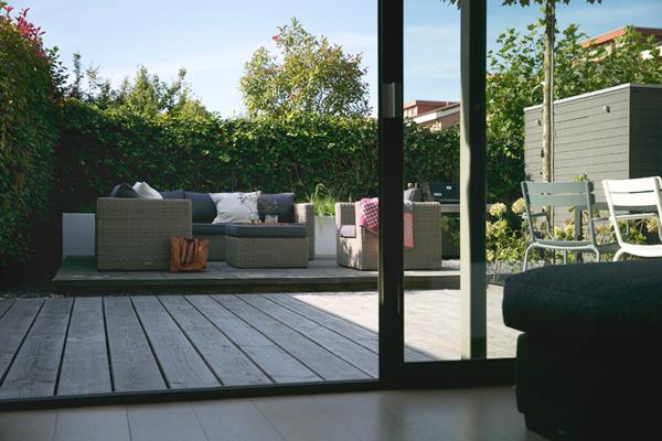 Tuinontwerp strakke onderhoudsvriendelijke tuin interieur design by nicole fleur - Tuin interieur design ...