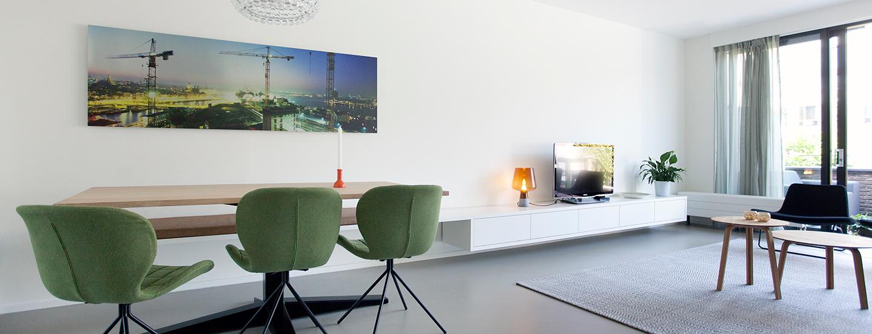 Interieur advies ontwerp en realisatie totaalconcept for Advies interieur