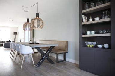 Verbouwing en restyling van een woning