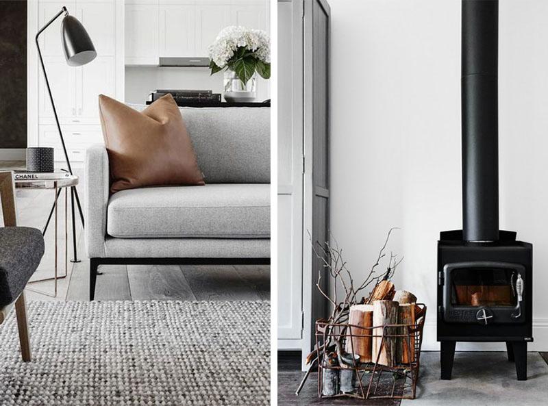 Sfeervol interieur met warme zachte materialen interieur design by nicole fleur - Chique en gezellige interieur ...