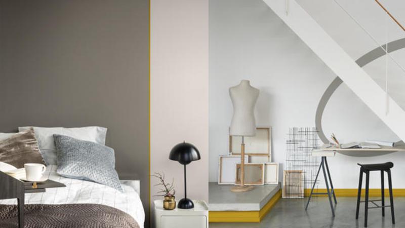 Flexa denim drift kleur van het jaar 2017 for Interieur kleuren 2017