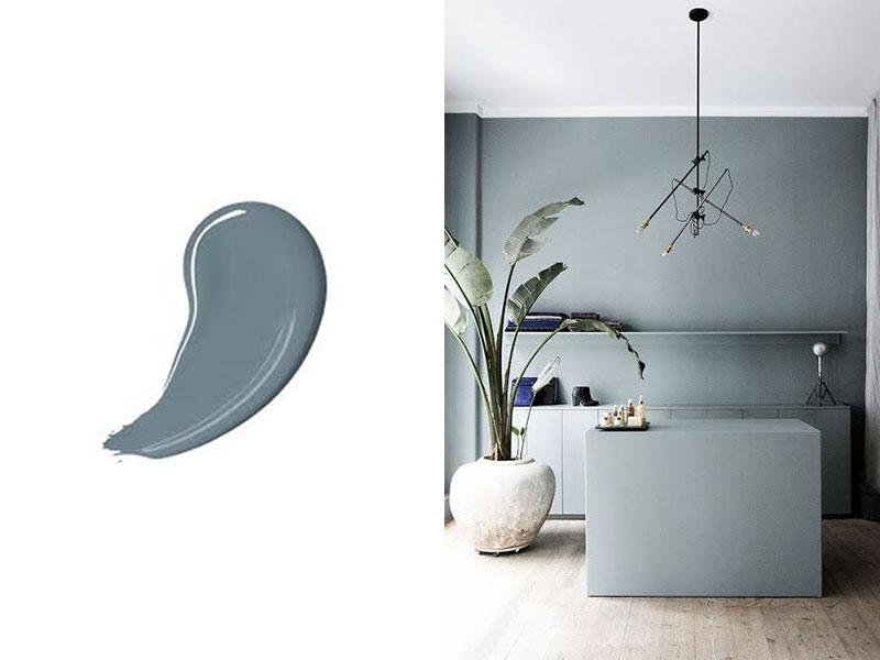Flexa Denim Drift interieur kleur van 2017