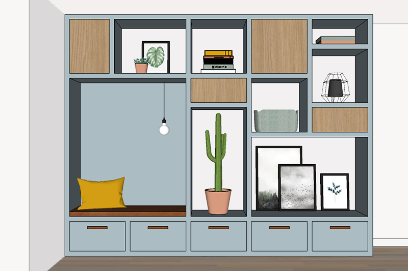Design Kast Maatwerk : Interieur totaalconcept met maatwerk kast