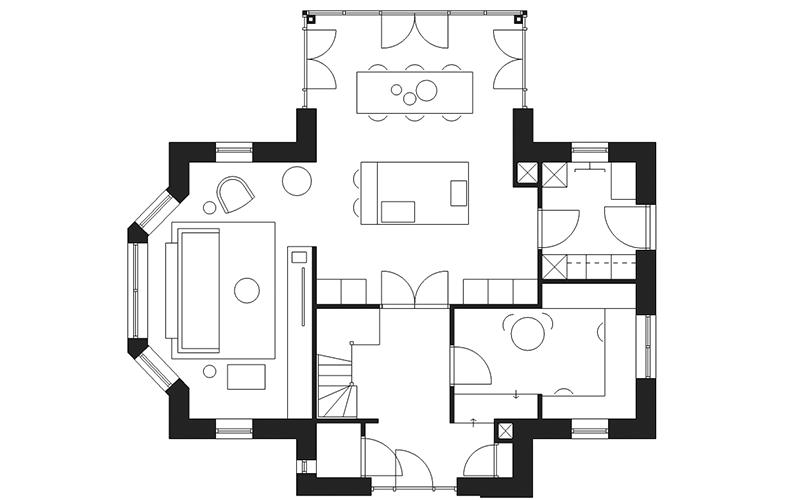 2D interieur ontwerp