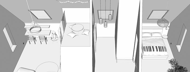 3D ontwerp zolder